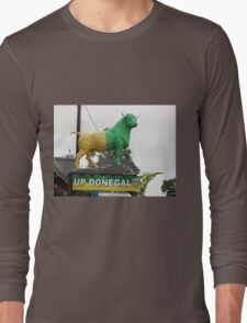 Up Donegal For GAA Finals - Burnfoot County Donegal Ireland . Long Sleeve T-Shirt