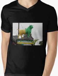 Up Donegal For GAA Finals - Burnfoot County Donegal Ireland . Mens V-Neck T-Shirt
