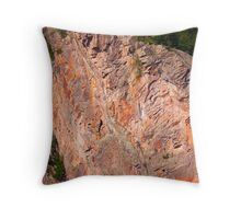 Cliffs of Bon Echo Provincial Park Throw Pillow