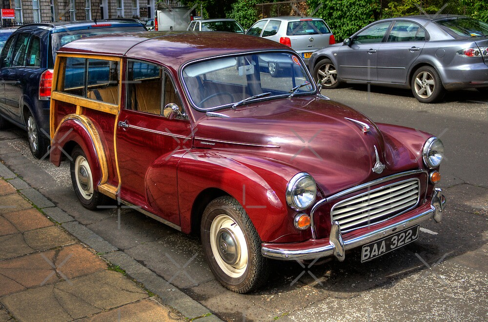 Morris Minor 1000 Traveller by Tom Gomez