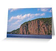 Bon Echo Provincial Park Cliffs Greeting Card