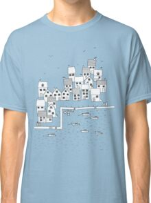Harbour Sketch Classic T-Shirt