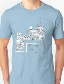 Harbour Sketch Unisex T-Shirt