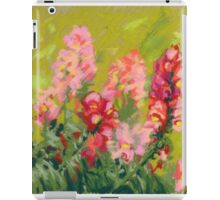 Snapdragon (antirrhinum) flowers. Painted with pastels.  iPad Case/Skin