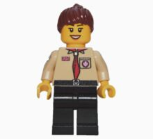 LEGO Female UK Scout Leader One Piece - Short Sleeve