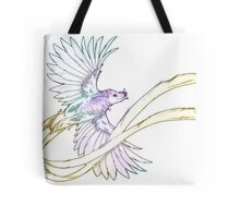 Ribbon-tailed Astrapia Tote Bag