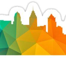 Philly Skyline- Colorful Sticker