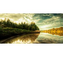 Reflections On The Manning Photographic Print