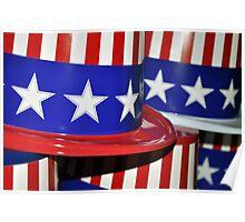 Happy Fourth of July USA USA USA  Poster