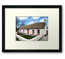 Homestead Donegal Ireland  Framed Print