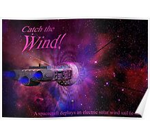 Catch the Solar Wind Poster