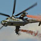 Mil Mi 35  Czech Air Force by Andy Jordan