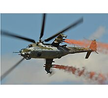 Mil Mi 35  Czech Air Force Photographic Print