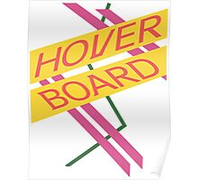Hoverboard Design Poster