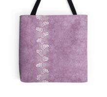 Hippoline - white-purple, Tote Bag