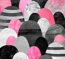 Pink Rocks by Elisabeth Fredriksson