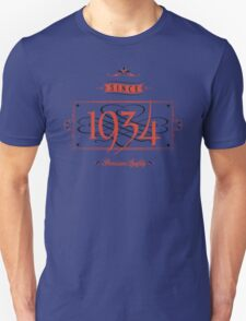 Since 1934 (Red&Black) T-Shirt