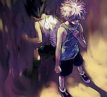 Hunter x Hunter (Gon & Killua) by mainnguyen