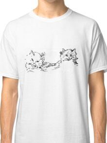 Sketch of cat heads- superb outlines Classic T-Shirt
