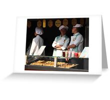 Chatting Chefs Greeting Card