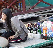 Waiting......... Halong Bay, Vietnam by BreeDanielle