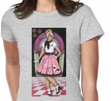 Sock Hop Womens Fitted T-Shirt