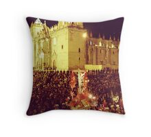 Lord of the Earthquakes Throw Pillow