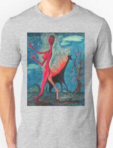 The Burning Giraffe Interpretation  Unisex T-Shirt