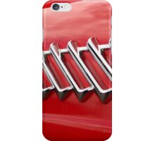 1956 Ford T-Bird chrome lines iPhone Case/Skin