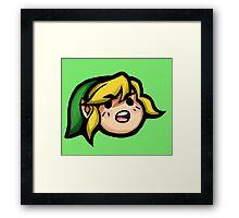 Hah! HYAH!!! Framed Print