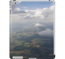 Flight over Germany iPad Case/Skin