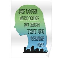 Paper Towns Margo-Green/Blue Poster