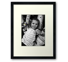 *Precious Daisy Love* Framed Print