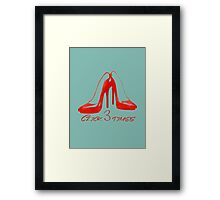 Ruby Slippers Framed Print