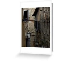 The Decay of Sienna Greeting Card