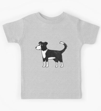Border Collie Kids Tee