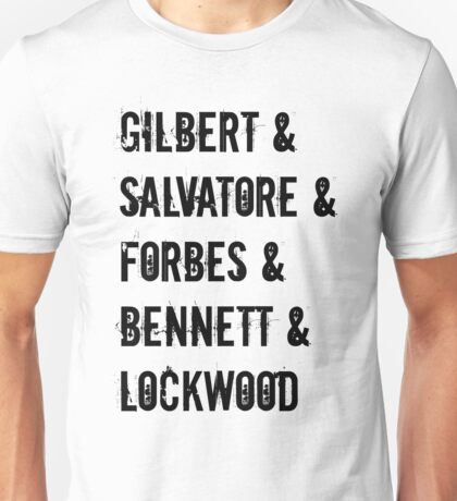 The Vampire Diaries Inspired Design Unisex T-Shirt