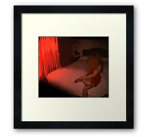 She said her name was Goldie.... Framed Print