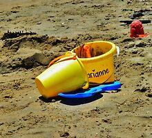 Beach Toys, Seal Beach, California by Stephen Burke