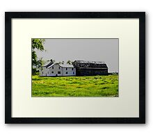 Old House/Barn Attachment Framed Print