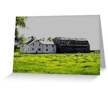 Old House/Barn Attachment Greeting Card