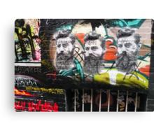 Ned Kelly graffiti, Melbourne Canvas Print