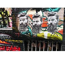 Ned Kelly graffiti, Melbourne Photographic Print