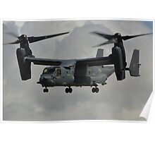 Bell-Boeing CV-228 Osprey(United States Air Force) Poster