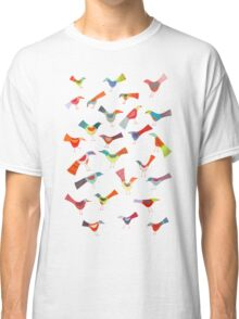 Birds doing bird things Classic T-Shirt