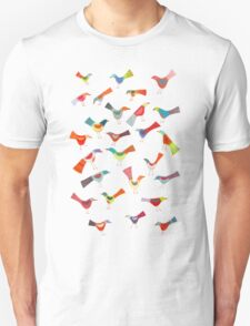 Birds doing bird things Unisex T-Shirt