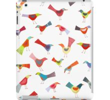 Birds doing bird things iPad Case/Skin