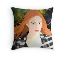 Amy Pond Throw Pillow