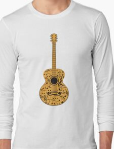 Guitar and Music Notes 4 Long Sleeve T-Shirt