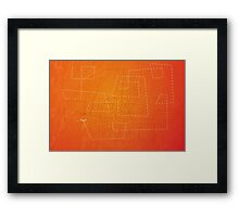 The Dance of the Midge on a Hot Summer Night Framed Print